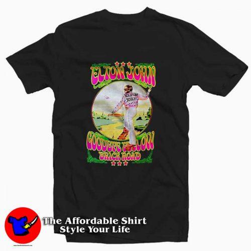 Elton John Goodbye Yellow Brick Road1 500x500 Elton John Goodbye Yellow Brick Road Tee Shirt