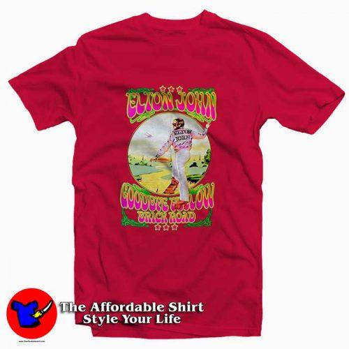Elton John Goodbye Yellow Brick Road2 500x500 Elton John Goodbye Yellow Brick Road Tee Shirt