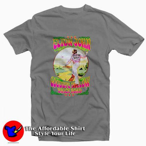 Elton John Goodbye Yellow Brick Road3 500x500 Elton John Goodbye Yellow Brick Road Tee Shirt