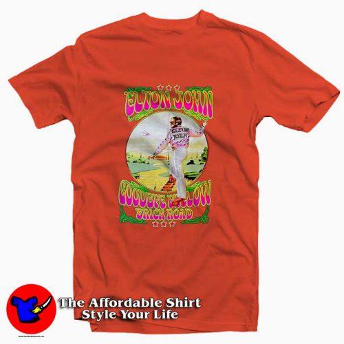 Elton John Goodbye Yellow Brick Road4 500x500 Elton John Goodbye Yellow Brick Road Tee Shirt