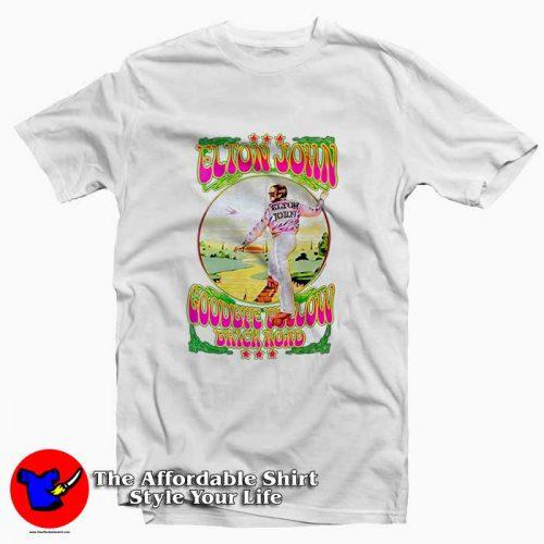 Elton John Goodbye Yellow Brick Road5 500x500 Elton John Goodbye Yellow Brick Road Tee Shirt