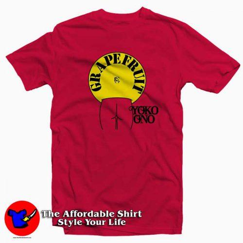 Grapefruit Yoko Ono 500x500 Grapefruit Yoko Ono Tee Shirt