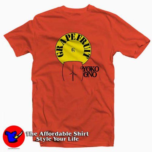 Grapefruit Yoko Ono1 500x500 Grapefruit Yoko Ono Tee Shirt