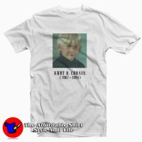 Kurt D cobain Child Tee Shirt White