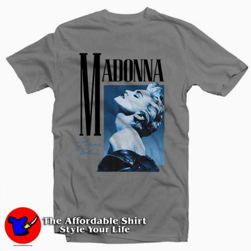 Madonna True Blue Album 500x500 Madonna True Blue Album Tee Shirt