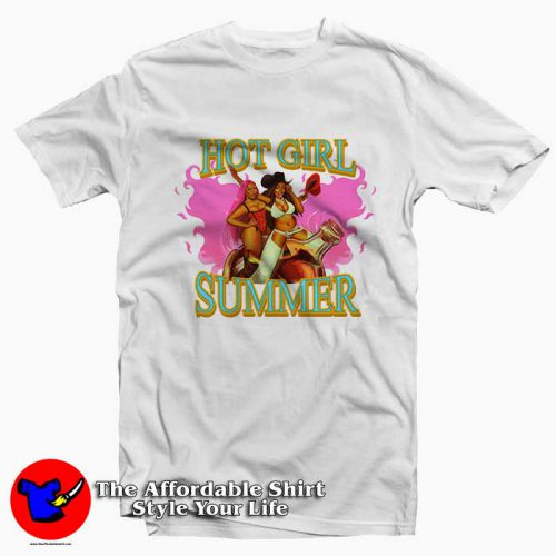 Megan Thee Stallions Hot Girl Summer1 500x500 Megan Thee Stallion's Hot Girl Summer Tee Shirt