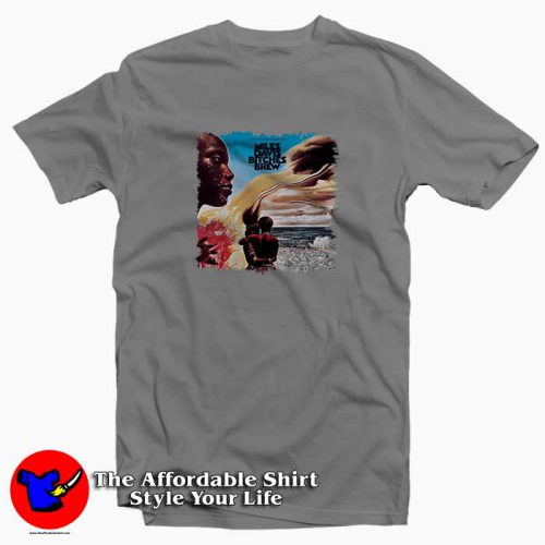 Miles Davis Bitches Brew1 500x500 Miles Davis Bitches Brew Tee Shirt