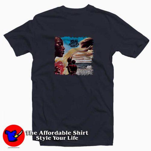 Miles Davis Bitches Brew2 500x500 Miles Davis Bitches Brew Tee Shirt