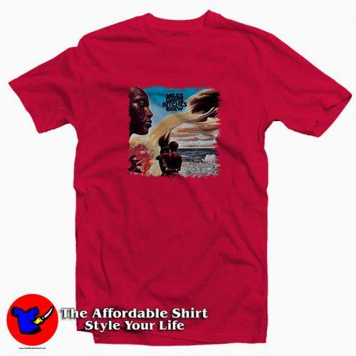 Miles Davis Bitches Brew3 500x500 Miles Davis Bitches Brew Tee Shirt