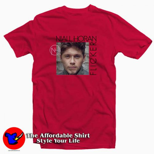 Niall Horan Flicker Album2 500x500 Niall Horan Flicker Album Tee Shirt