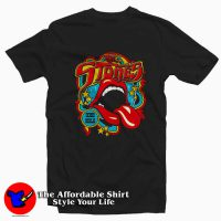 Rolling Stones Vintage Tongue Tee Shirt Black