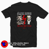 Smashing Pumpkins Marilyn Manson Tour Tee Shirt