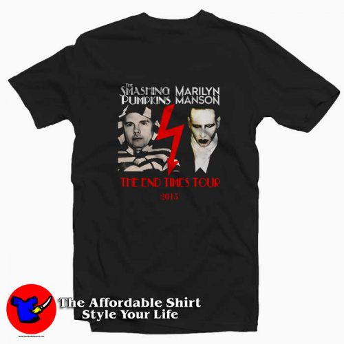 Smashing Pumpkins Marilyn Manson Tour 500x500 Smashing Pumpkins Marilyn Manson Tour Tee Shirt