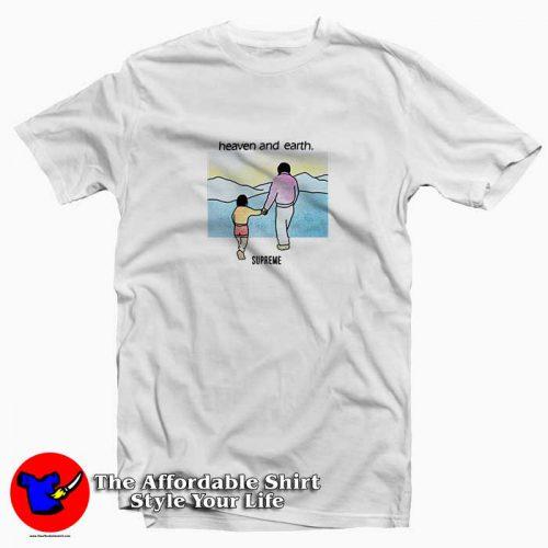 Supreme Heaven And Earth 500x500 Supreme Heaven And Earth Tee Shirt