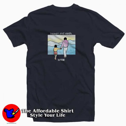 Supreme Heaven And Earth6 500x500 Supreme Heaven And Earth Tee Shirt