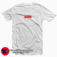 Supreme Red Box Tee Shirt White