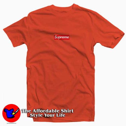 Supreme Red Box4 500x500 Supreme Red Box Tee Shirt