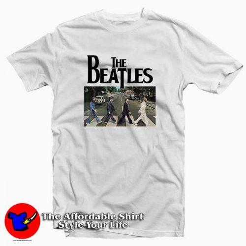The Beatles Abbey Road 500x500 The Beatles Abbey Road Tee Shirt