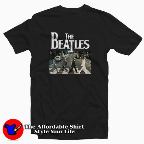 The Beatles Abbey Road2 500x500 The Beatles Abbey Road Tee Shirt
