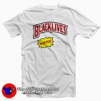 Black lives Matter Backwoods Style Tee Shirt