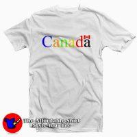 Canada Flag Letter Tee Shirt