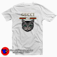 Cat Vintage Belt Tee Shirt
