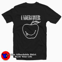 Nirvana Undercover Apple Tee Shirt Black