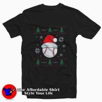 Ugly Christmas Baseball Tee Shirt