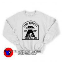 Camp Roswell Alien Camping Unisex Sweatshirt