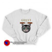 Cat Vintage Belt Unisex Sweatshirt