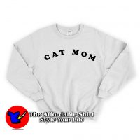 Cat mom Unisex Sweatshirt