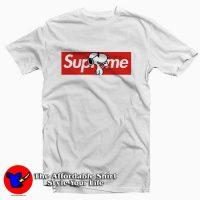 Joe Cool Snoopy Red Box Supreme Tee Shirt