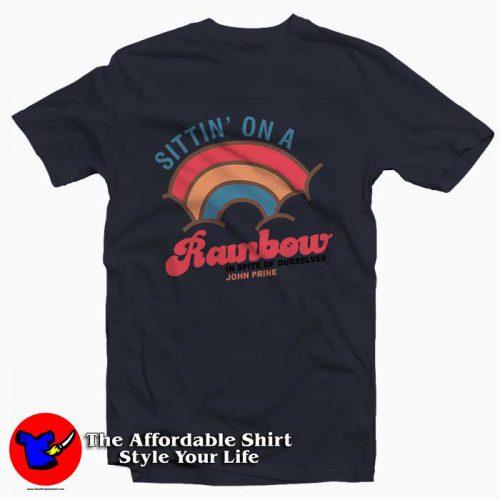 John Prine Sittin On A Rainbow 500x500 John Prine Sittin' On A Rainbow Tee Shirt