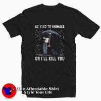 John Wick Be Kind To Animals Tee Shirt