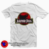 Jurassic Pug Tee Shirt