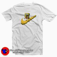 Just Do It Spongebob Parody Tee Shirt