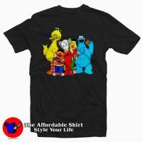 Kaws x Sesame Street Tee Shirts