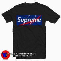 Nasa x Blue Supreme Tee Shirt