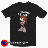 Sonic Young Thug Recorded Tee Shirt