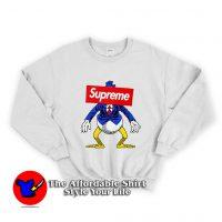 Vintage Disney Supreme Donald Duck Unisex Sweatshirt