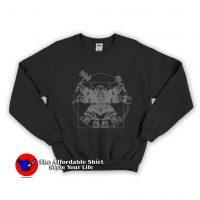 Vitruvian Dwarf Unisex Sweatshirt