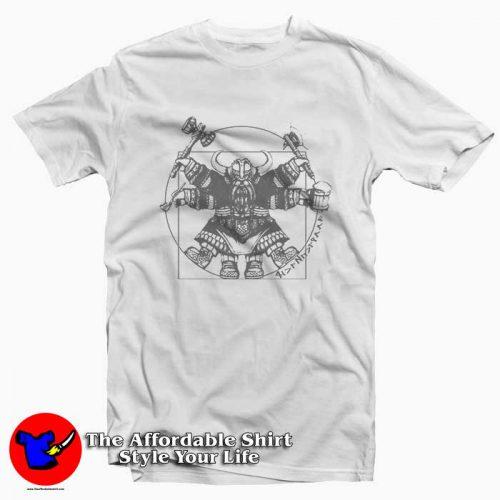 Vitruvian Dwarf 500x500 Vitruvian Dwarf Tee Shirt
