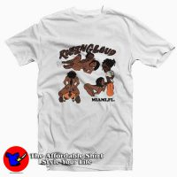 Vlone Asap Rocky Rolling Loud Tee Shirt