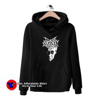 Black Metal Johnny Cash Hoodie Cheap