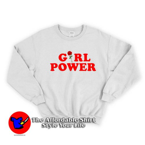 Girl Power 500x500 Girl Power Unisex Sweatshirt