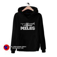 Miles Davis Trumpet Logo Hoodie