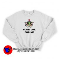 Baby Yoda Valentines Day Sweatshirt