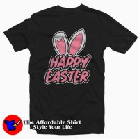 Bunny Happy Easter T-Shirt For Gift Easter
