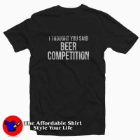 Cheer Dad Beer Competition Tee Shirt