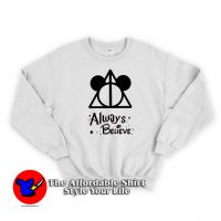 Disney Vacation Always Believe Swearshirt